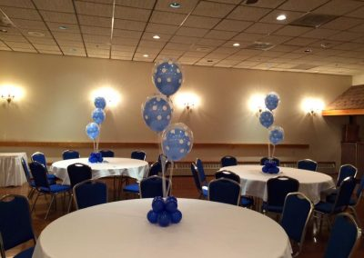 double balloon centerpiece