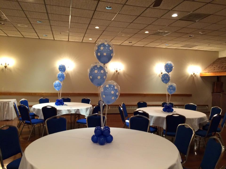 Balloon centerpieces the party lab