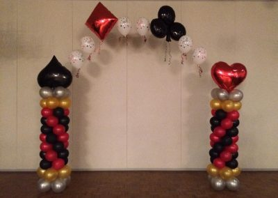 Casino Themed Arch