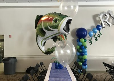 Fish Themed Centerpiece