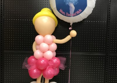 Ballerina w/Photo Balloon