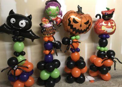 Halloween Columns